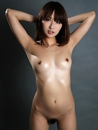 Beautiful japanese idol Mana Aoki posing for you