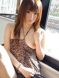 Redhead japan cute girl Yu Ayanami