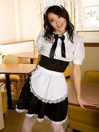 Maid Mai Mizusawa gets really busy