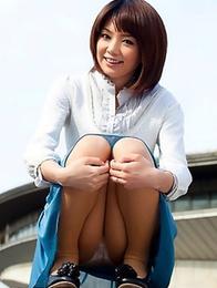 Enjoy watching striptease show from hot Nozomi Mayu