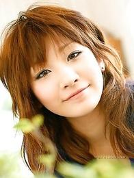 Gorgeous pics of Mami Shimomura will show you big boobs