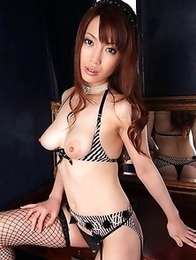 Kaede Kyoumoto wildest solo nude action