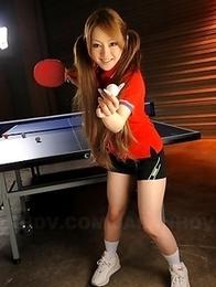 Cute Ria Sakurai shows her tits