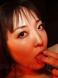 Brunette wants to suck a big dick