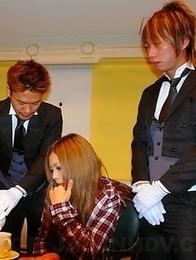Tsubasa n Kanon in a hot foursome