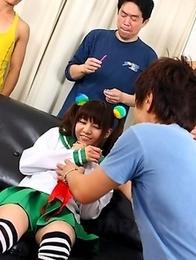 Hikaru Aoyama gets her cunt shaved
