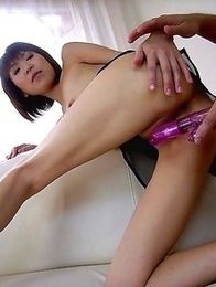 Pervs feast on Asian tits and twat