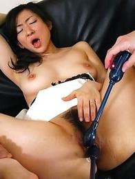 Servant Emiko Koike cleans cocks