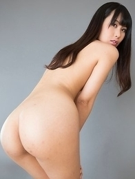 Kotomi Shinosaki gives a great assjob before getting her feet covered in cum
