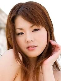 Nene Fujimori posing in swinsuit