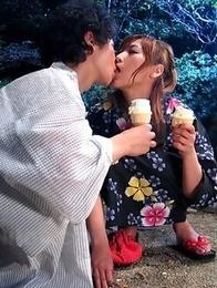 Eri Hoshikawa loves to lick a dick