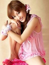 Choose your favorite photos of a kinky Asian babe Kirara Asuka