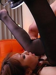 Big dicks for slutty Momoko Aiuchi