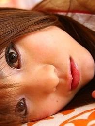 Schoolgirl Fuwari has a hairy pussy