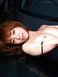 Look at the sweet boobs and juicy kitty of Hikaru Shiina