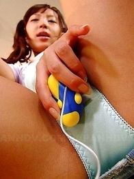 Slutty Nagisa loves to masturbate
