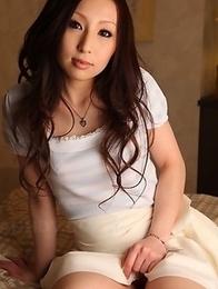 Asuka Souma showing off her body