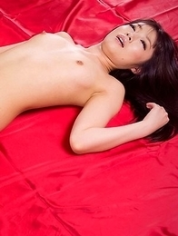 Mizuho Shiina is a sexy slut with meaty thighs, she gets thigh-fucked a bunch