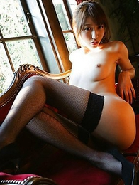 Alice Miyuki is getting naked in a hot photoshoot