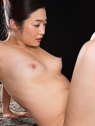 Ryu Enami Cum Covered Footjob