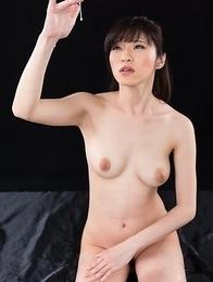 Sara Yurikawa Jacks Off A Group of Guys With Cum