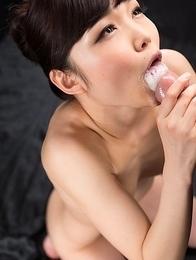 Shino Aoi Cum Covered Group Handjob