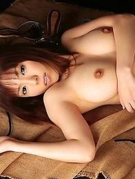 Maora Tsukishima looks awesome being absolutely naked