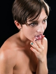 Marie Cum Filled Mouth Group Blowjob