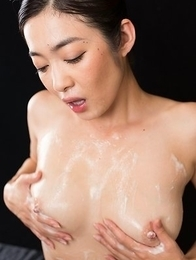 Ryu Enami Cum Filled Mouth Group Blowjob