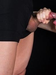 Shino Aoi Gives Sticky Cum Covered Handjob