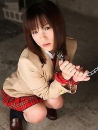 Beautiful bondage gal Arisa Suzuki