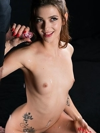 Tera Link Spreads Cum All Over Cocks Until They Cum