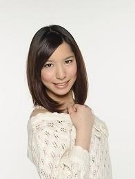 Kurara Makise looks so hot in a white sweater