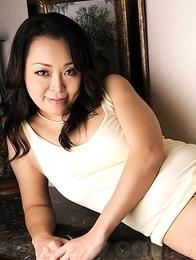 Hot Asian Yuna Yamami shows big ass chheks