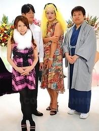 Naughty Rino Asuka strips for cam