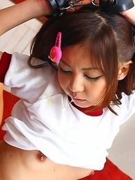 Hikaru Aoyama gets tied and used