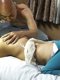 Asian Juri Kitahara housewife is fingered