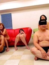 Hot Japanese ladies getting teased
