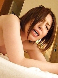 Hot Hiromi Tominaga gets two dicks