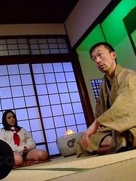Rui Natsukawa gets fingered good