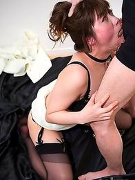 Tsubaki Katou is an intense pervert who just cant get enough dick.