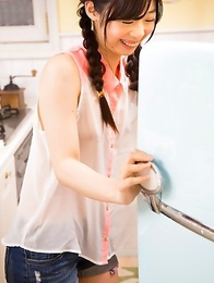 As you can see, Japanese babe Aiku-chan is more than just her cute looks, brilliant smile, and silky skin.