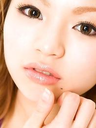 Runa Hamakawa with hot curves shows how sportive she is