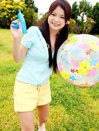 Kana Tsuruta is hot and naughty no matter what she does
