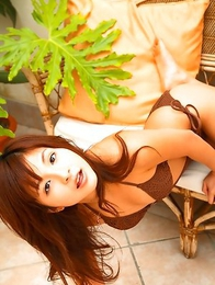 Rina Nagasaki shows hot body in various outfits outdoor