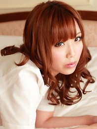 Kurumi Kisaragi is so erotic showing hot bum in tight skirt