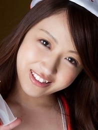 Cocoro Hirahara is hot nurse who shows nooky in panty